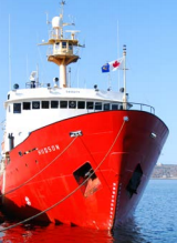 AZMP Cruises in April and September 2014 took ~350 measurements.
